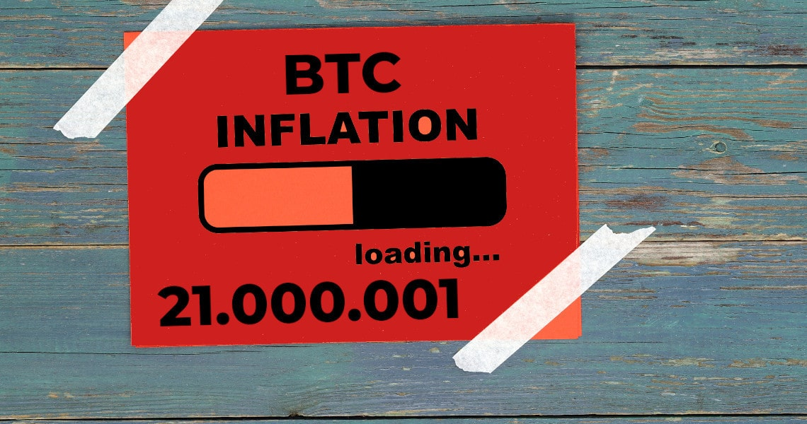 Superare il limite di 21 milioni di Bitcoin: l'inflazione è un tabù?