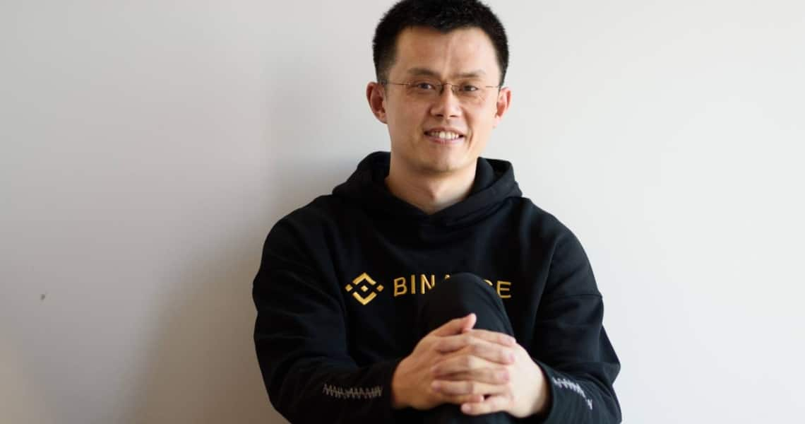 Il patrimonio netto del CEO di Binance supera i $ 2.5 miliardi
