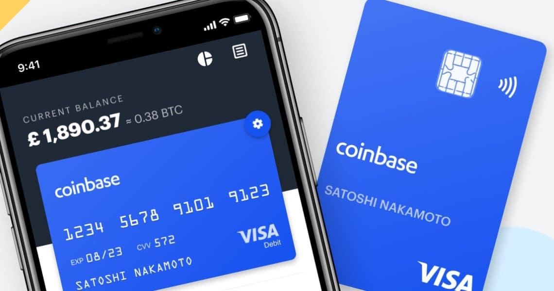 Coinbase: membership Visa per la sua card