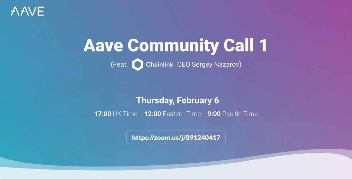 aave community call