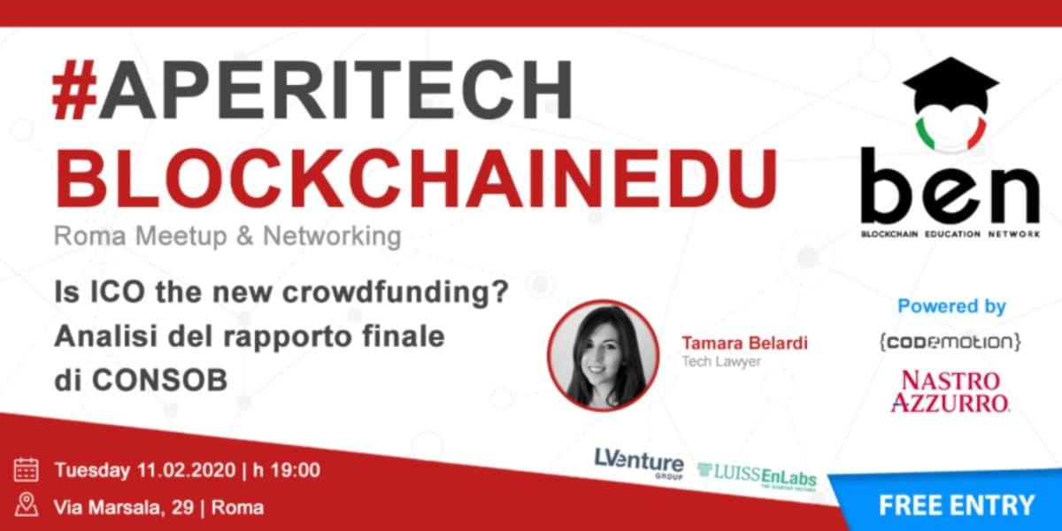 Un nuovo blockchain meetup a Roma