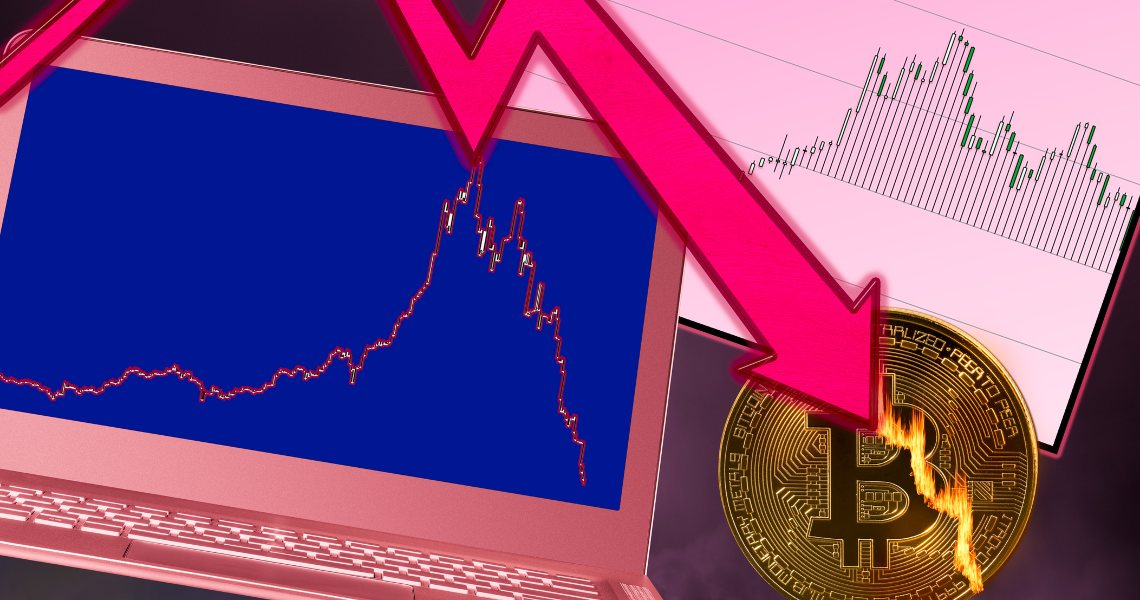 Flash crash per Bitcoin: tonfo a 9.200 dollari