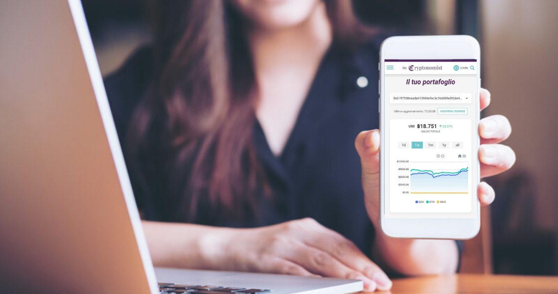 The Cryptonomist: personalizza il tuo feed di notizie con Metamask ed Eidoo