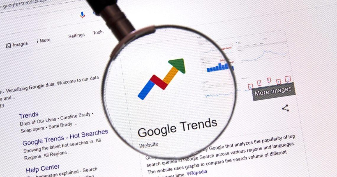 Coronavirus e Bitcoin su Google Trends