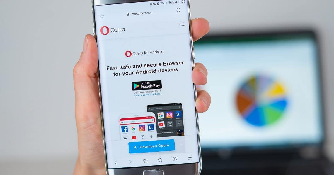 Opera browser crypto