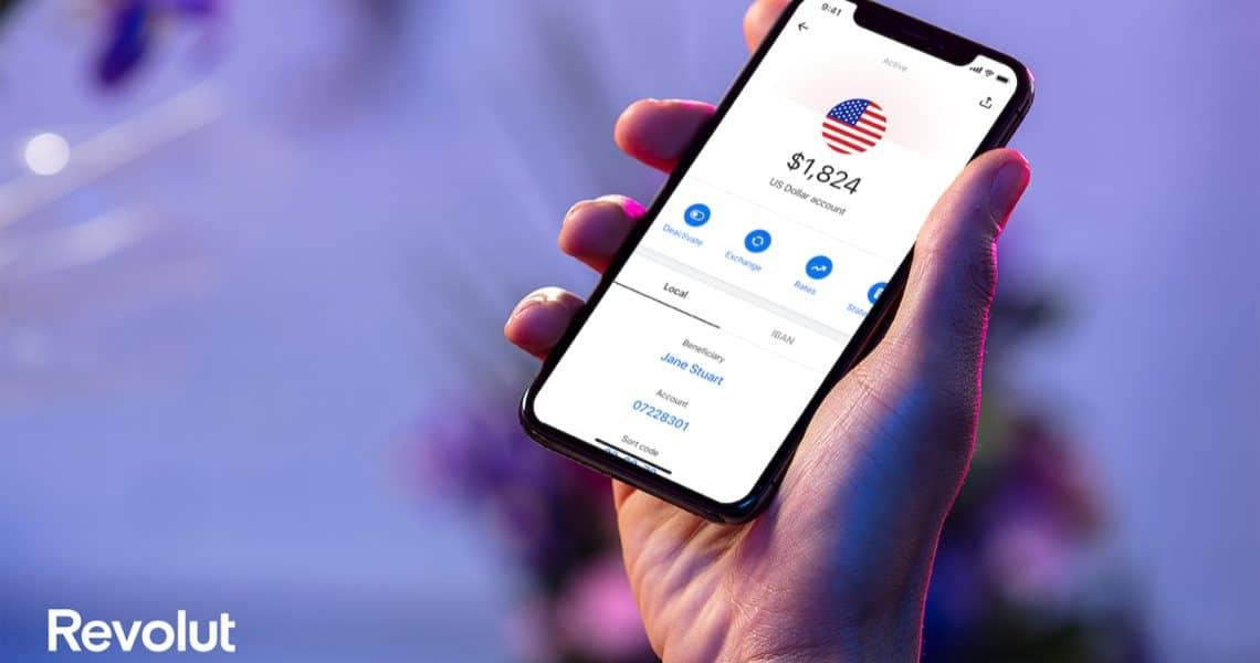 Revolut: l'app finanziaria arriva negli USA
