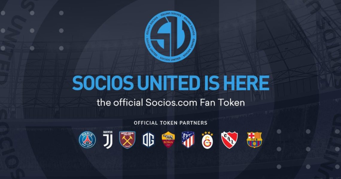 Socios lancia lo United Fan Token ($SSU)