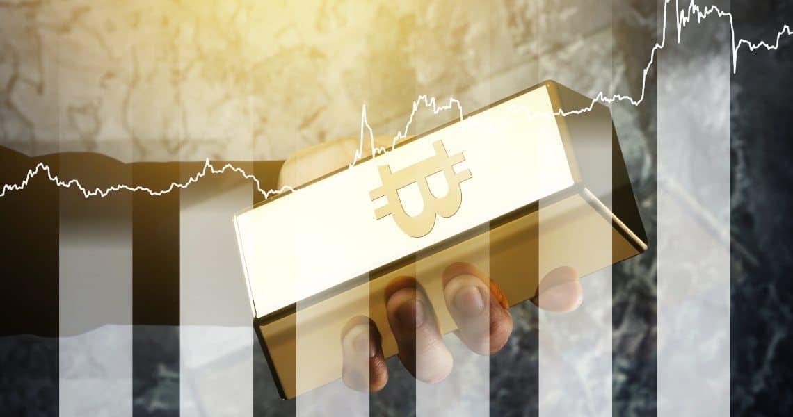 correlazione Bitcoin oro