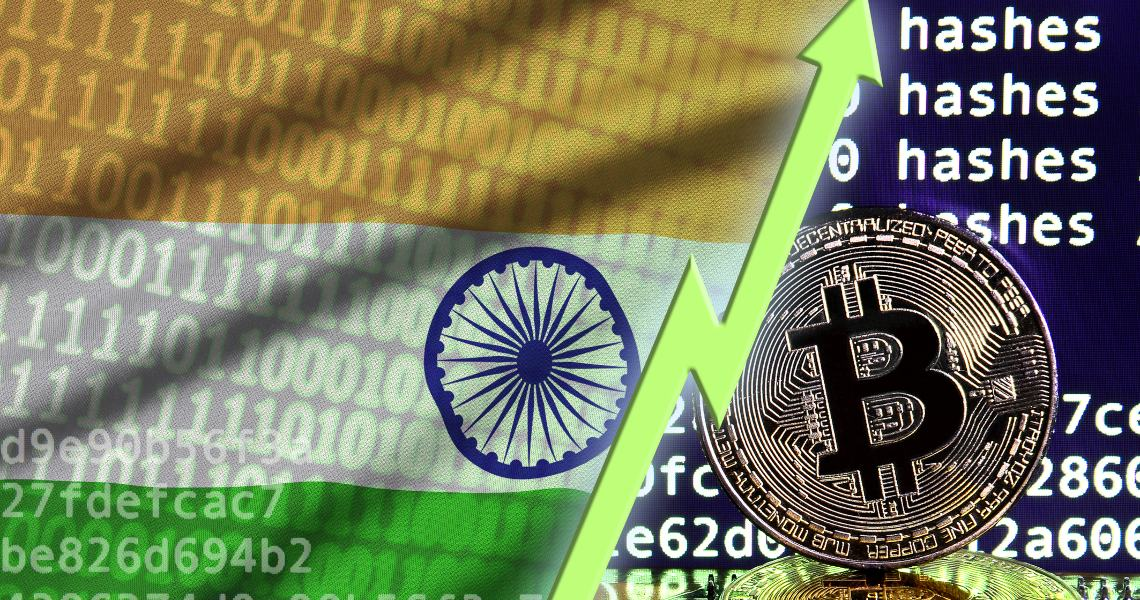 In aumento gli investimenti degli indiani nel settore crypto