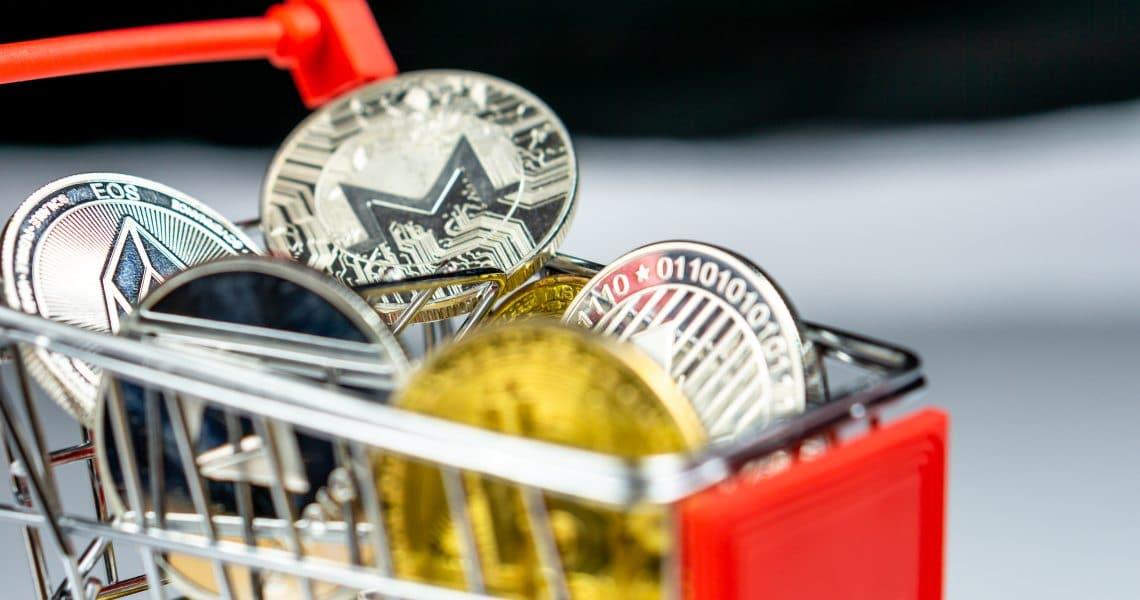 I supermercati in cui si può pagare in criptovalute