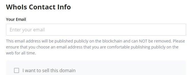 Unstoppable Domains: návod