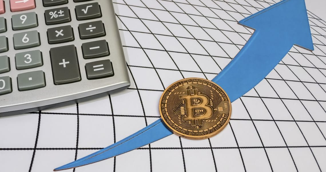 Bitcoin potrebbe arrivare a $9150 ad aprile secondo TradingView
