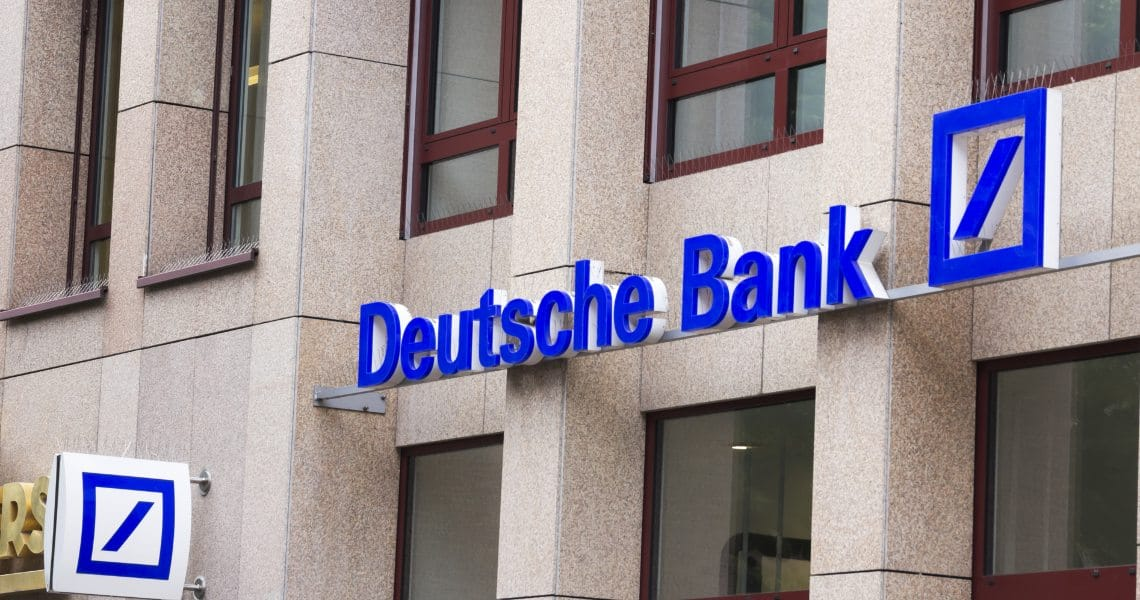 Deutsche Bank a favore delle valute digitali