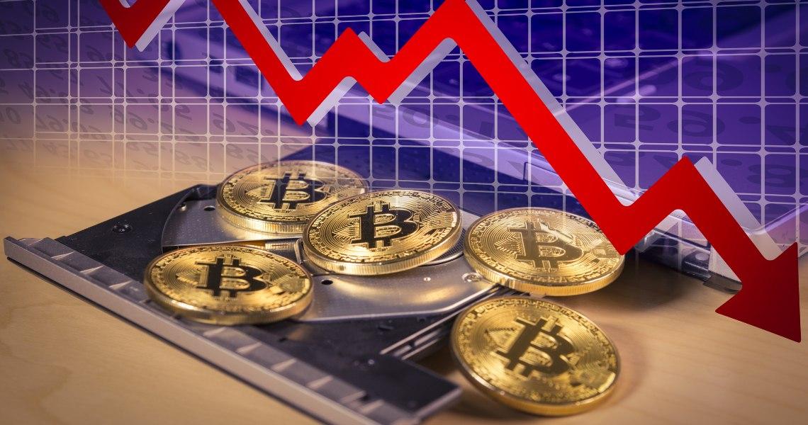 Bitcoin: il prezzo oggi torna sotto i 7.000 dollari