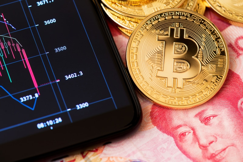 Cina: i volumi di trading crypto exchange sono falsati