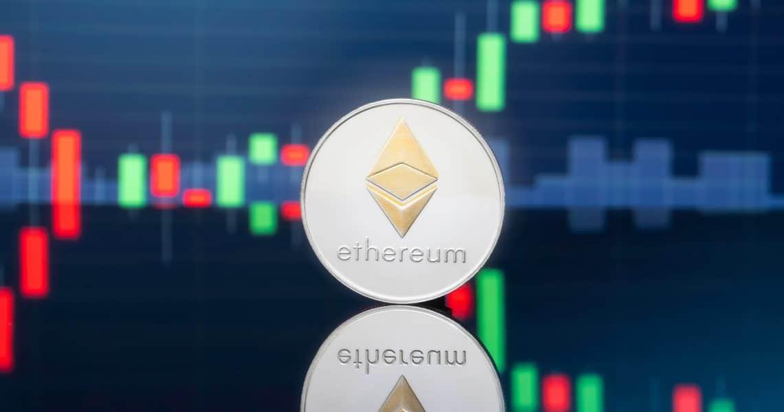 Ethereum, prezzo in rialzo su base settimanale: +20%