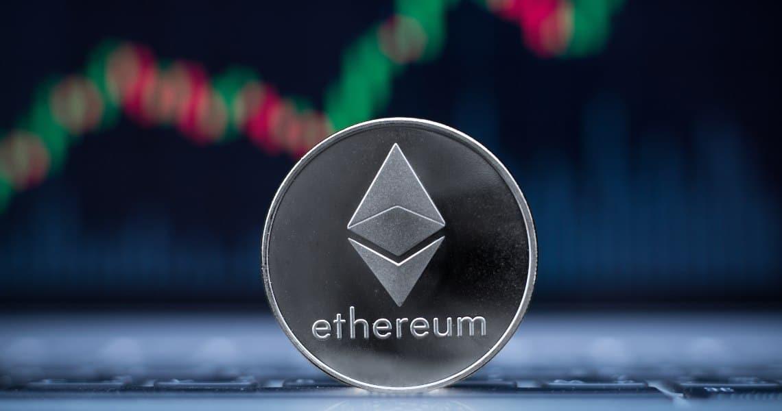 Ethereum: volumi oggi in rialzo