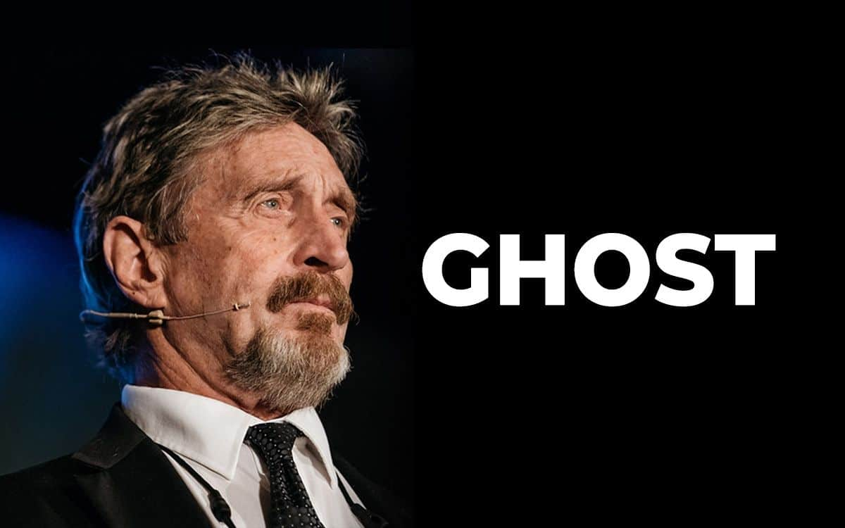 Ghost: la privacy coin di John McAfee