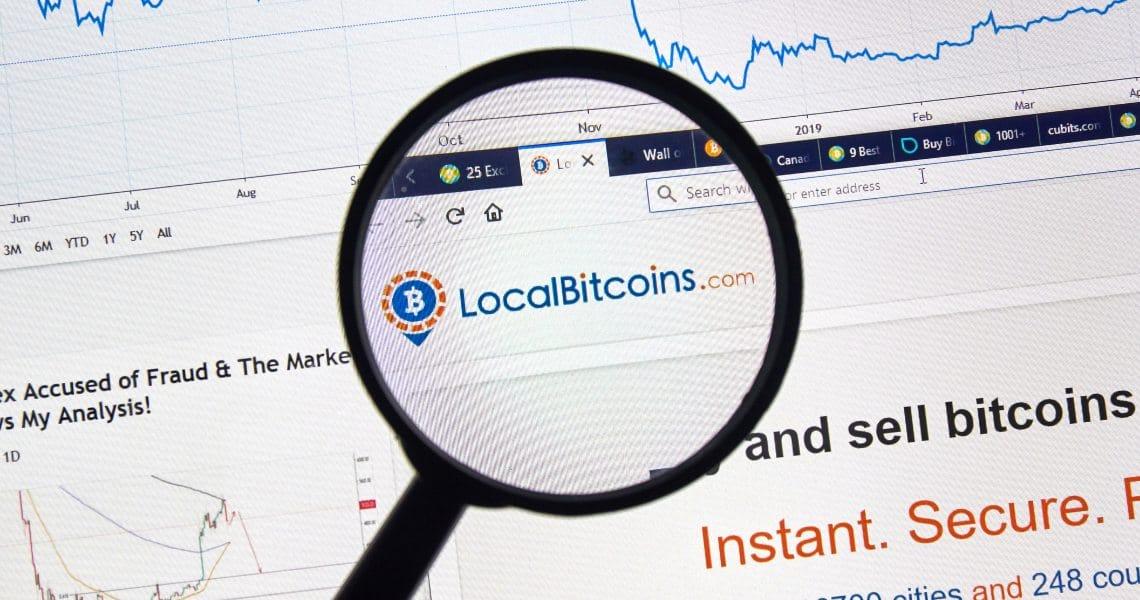 Come funziona l'app LocalBitcoins