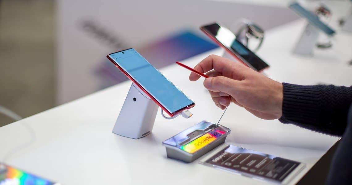Le dApp Tron nel Samsung Galaxy Store