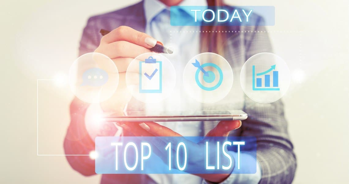 La top 10 delle migliori crypto per market cap nel Q1 2020