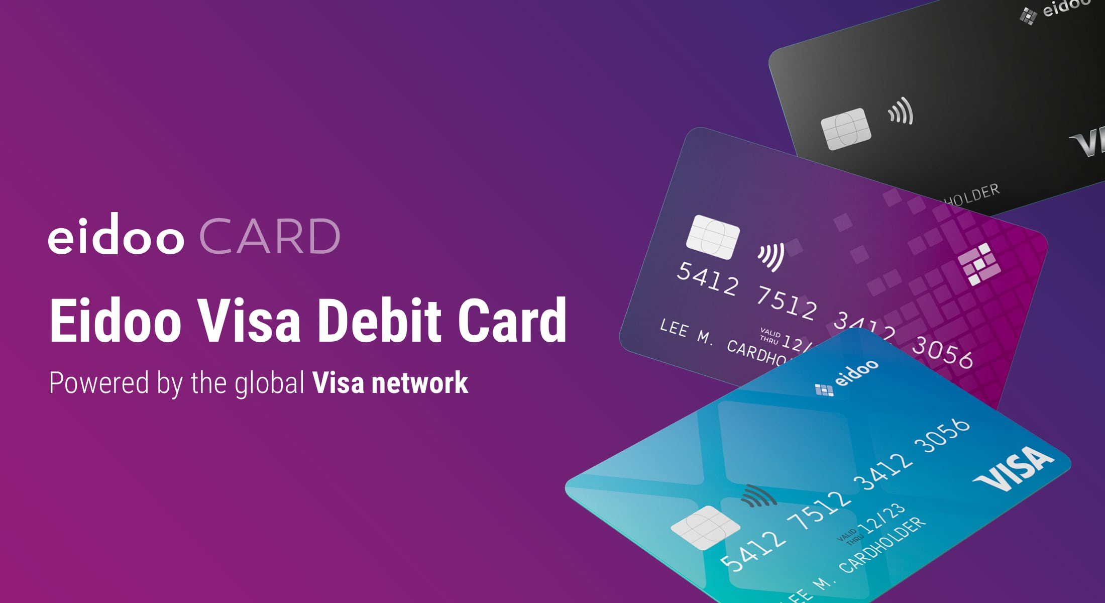 Eidoo lancia le carte di debito Visa