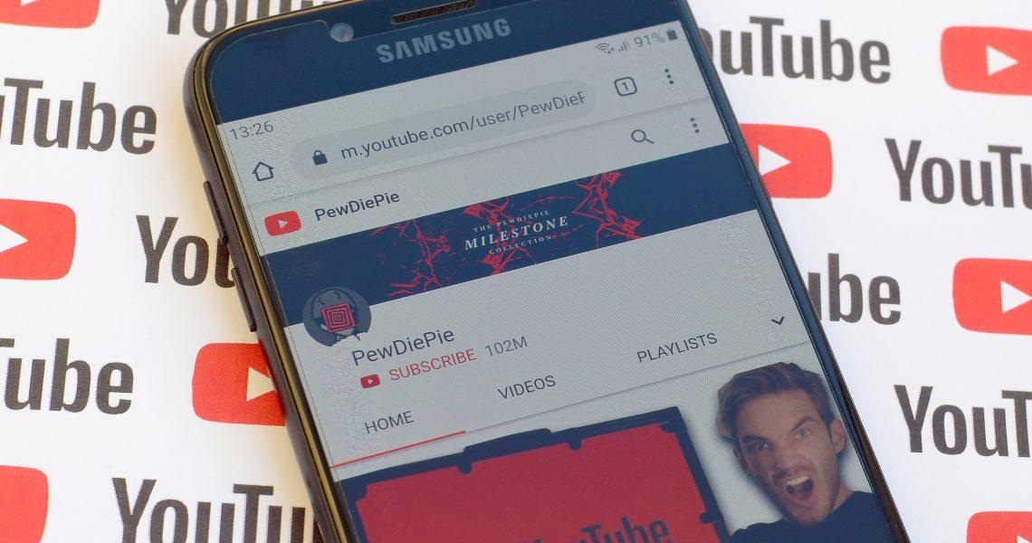 PewDiePie lascia la blockchain e torna su YouTube