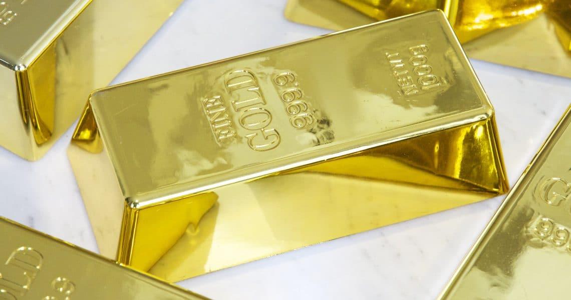 Le crypto supportate dall'oro cresciute del 16x