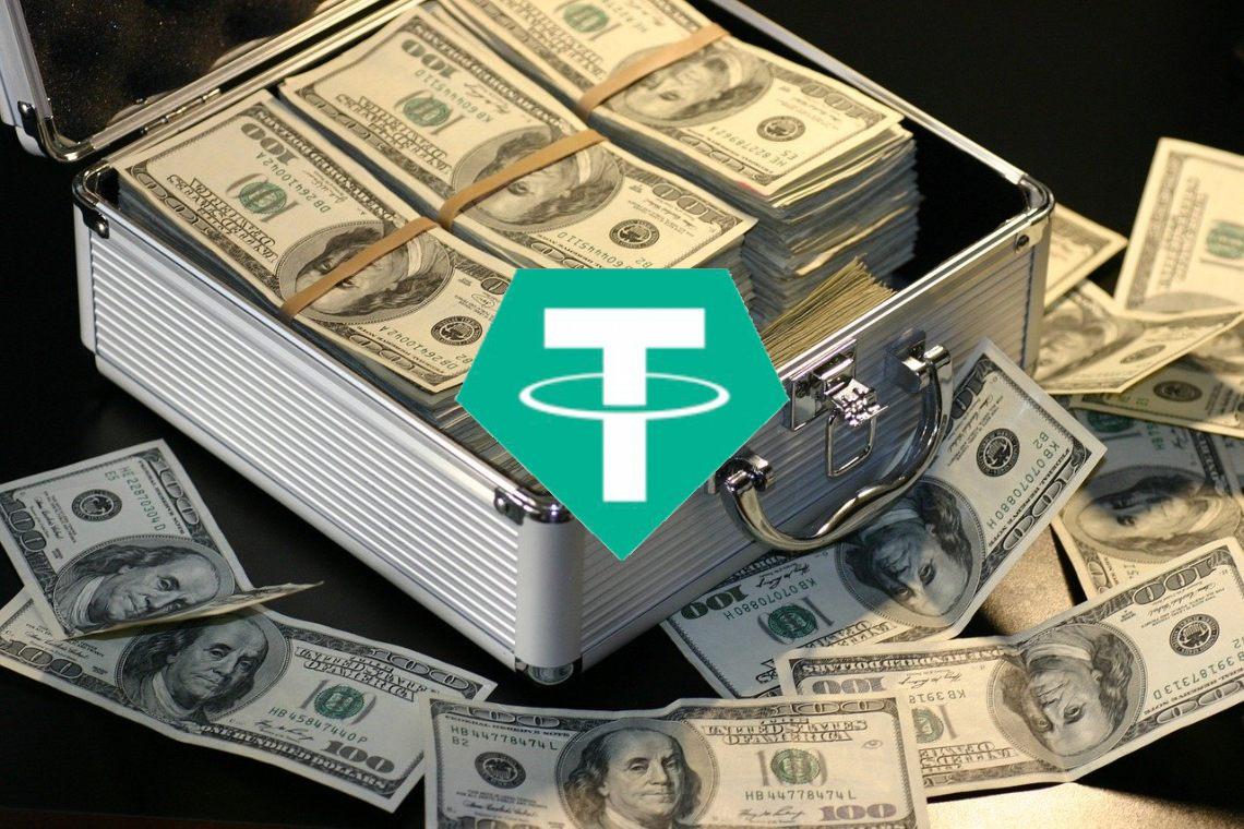Tether: picchi di domanda nella DeFi