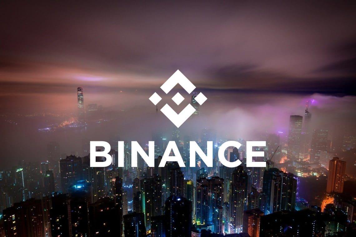 Binance riporta solo la metà dei volumi di trading