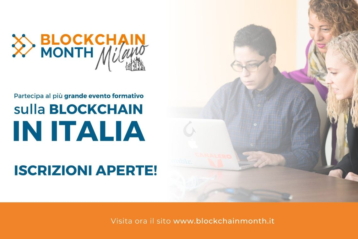 Blockchain Month Milano 2020 sta arrivando!