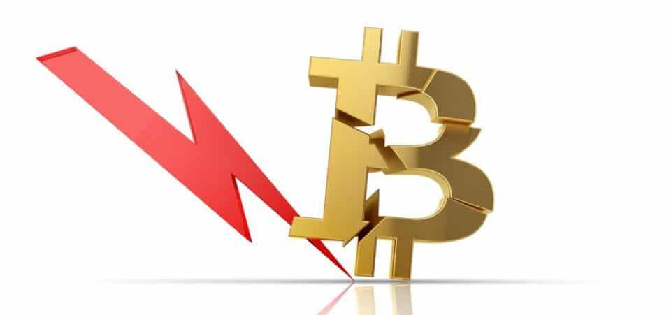 Bitcoin in crash, insieme a tutto il mercato
