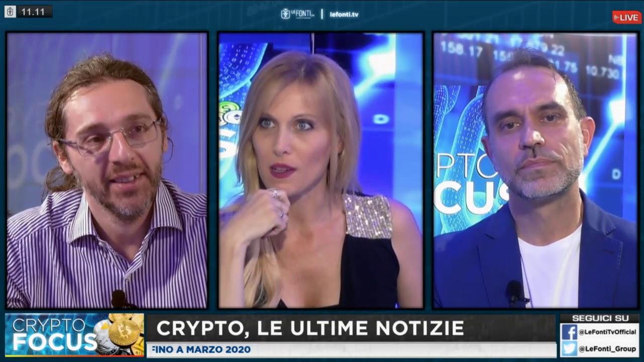 Crypto Focus oggi in diretta con Marco Cavicchioli