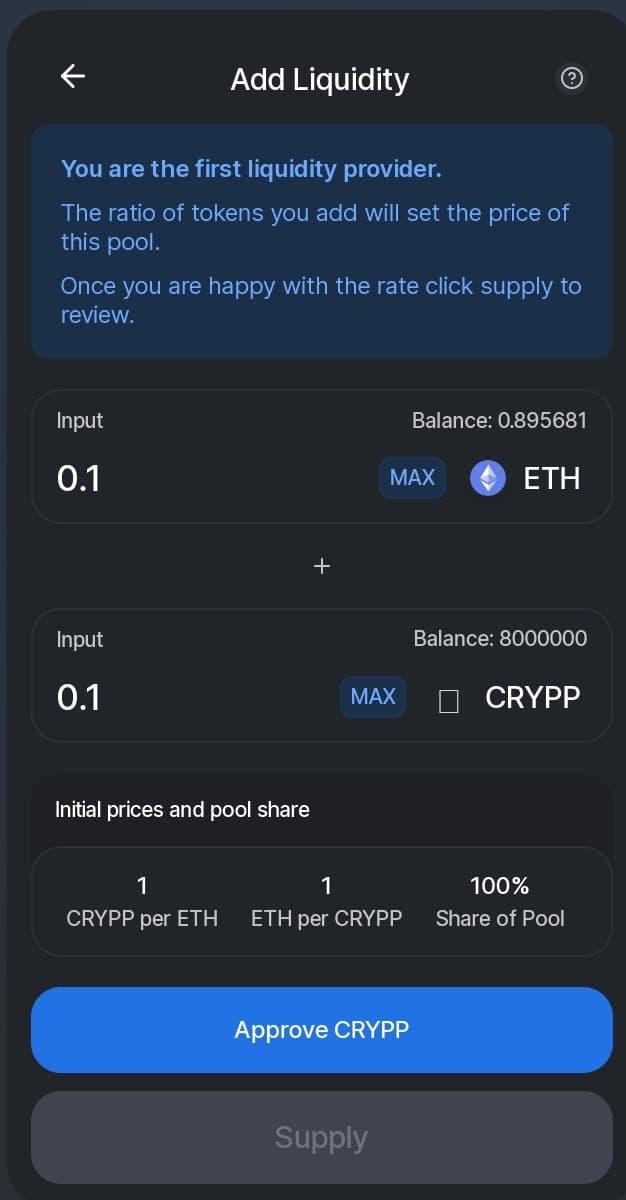 Jak zalistovat token na Uniswap