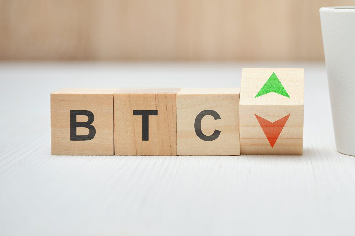 Bitcoin: oscillazioni dello 0,5% per BTC