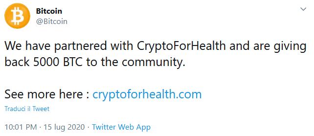 attacco hacker crypto Bitcoin