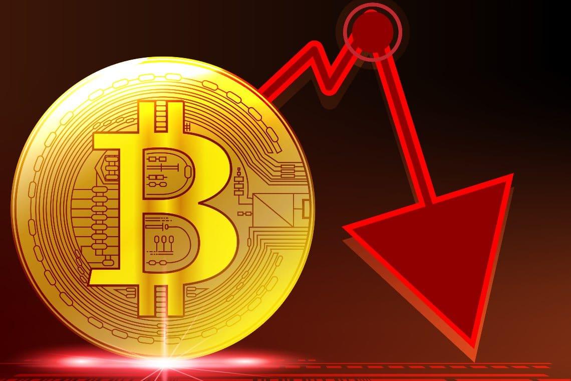 Criptovalute in rosso, trascinate dai mercati azionari