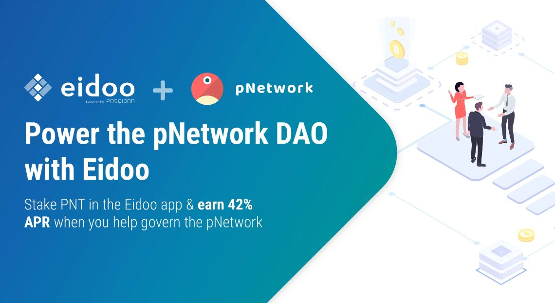 Eidoo e pNetwork lanciano la propria DAO