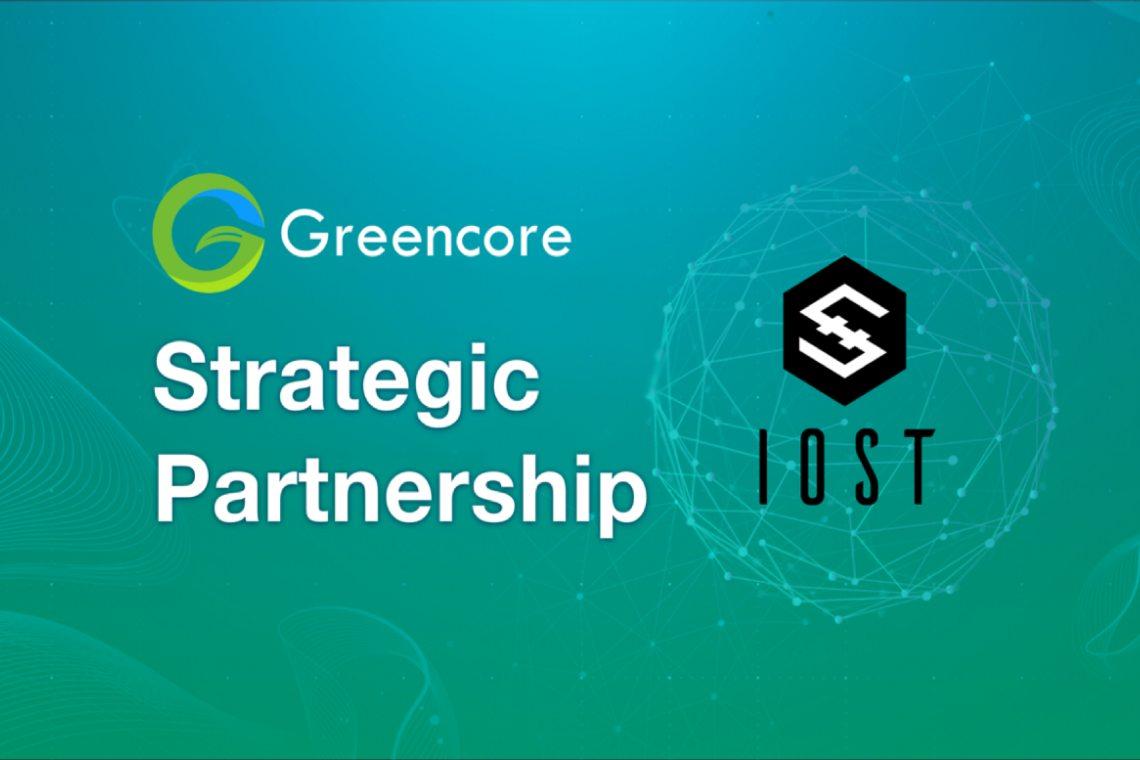 GreenCore: una nuova partnership per IOST