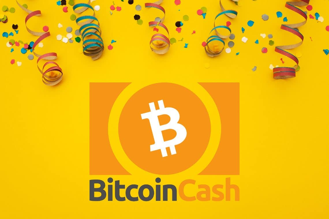 Bitcoin Cash arriva al terzo compleanno