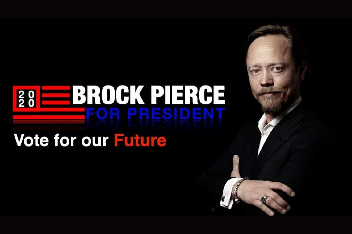 Presentato il vice presidente di Brock Pierce