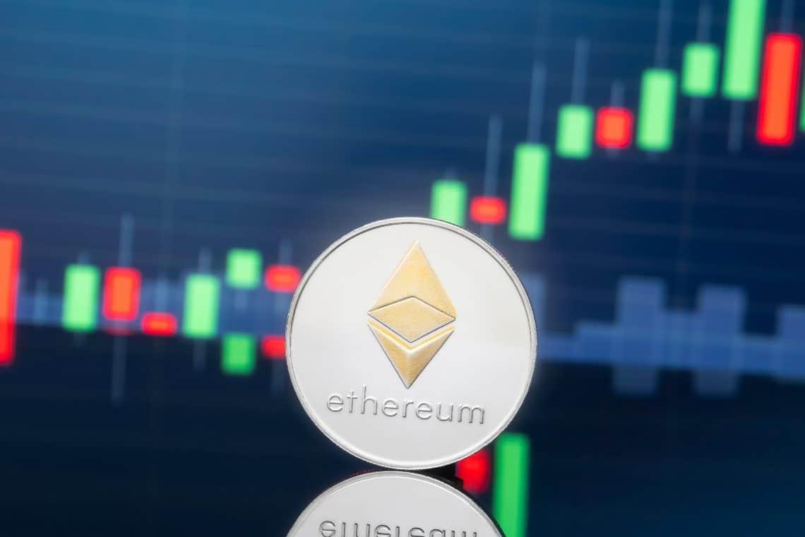 Ethereum: in forte salita il prezzo di ETH