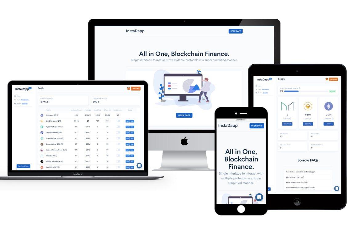 DeFI: InstaDapp aumenta del 3000% in un mese