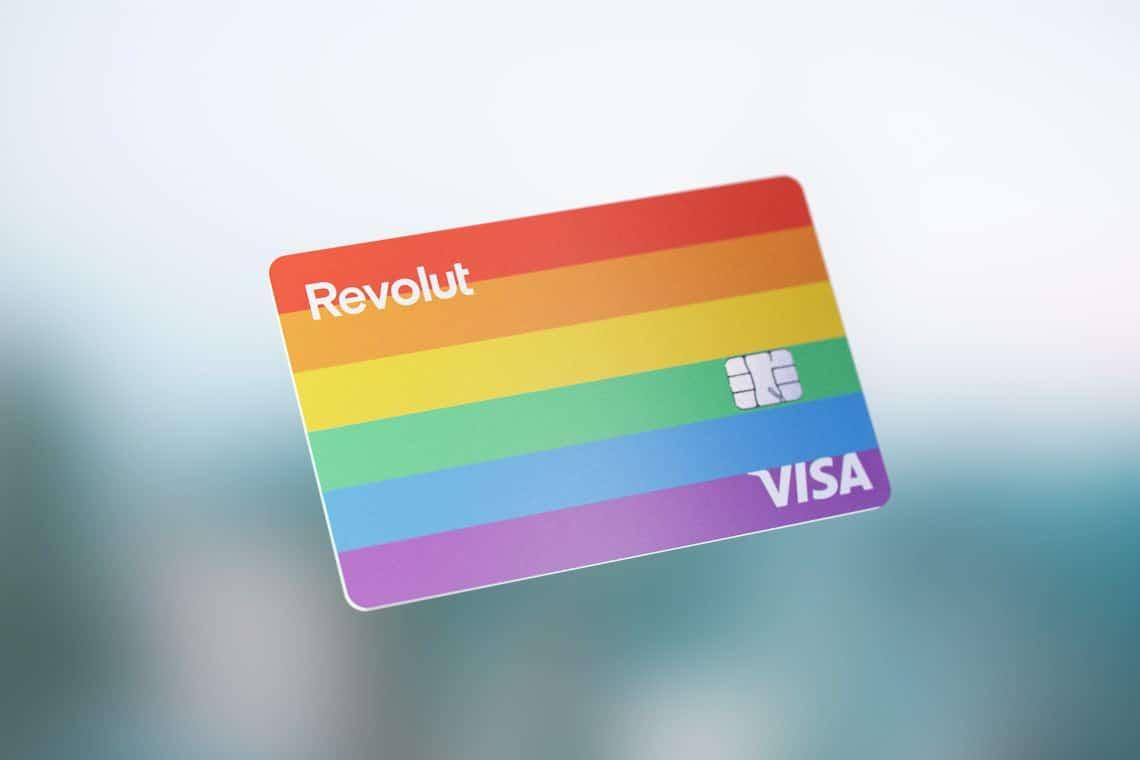 Le carte di Revolut per il Pride