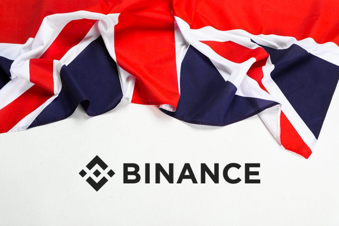 Binance entra nell'associazione CryptoUK