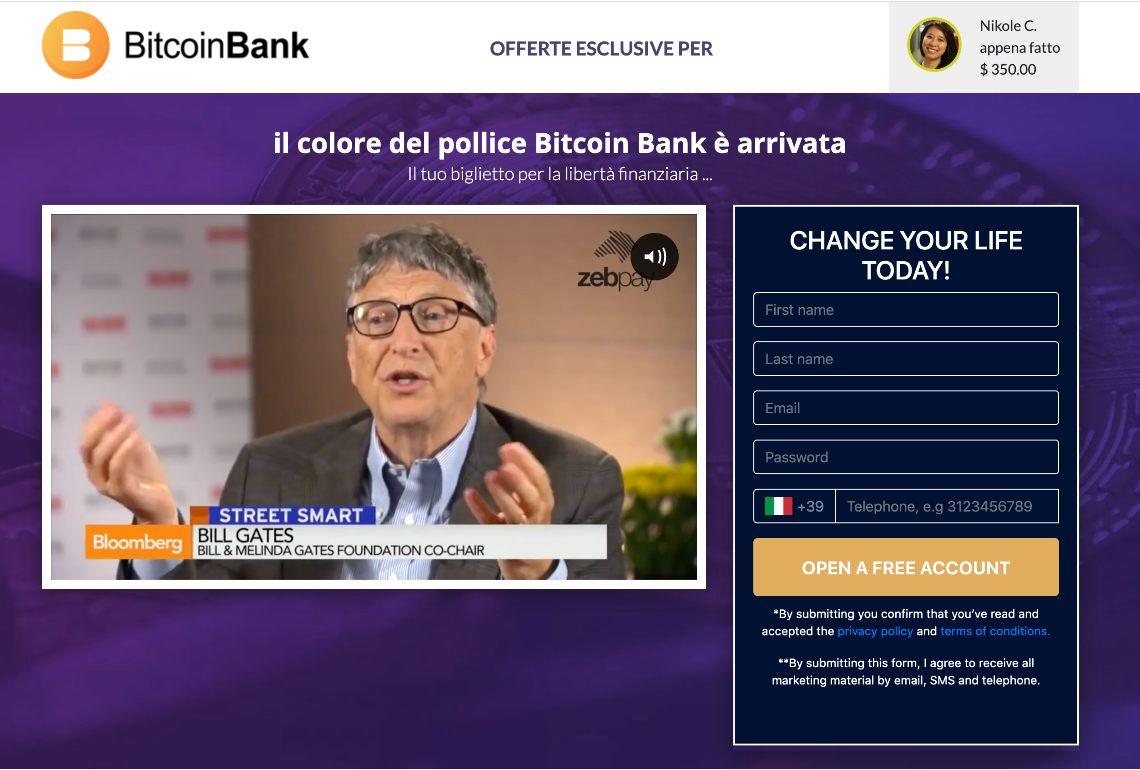 Bitcoin Bank screenshot