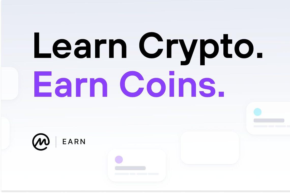 Guadagnare crypto con CoinMarketCap Earn