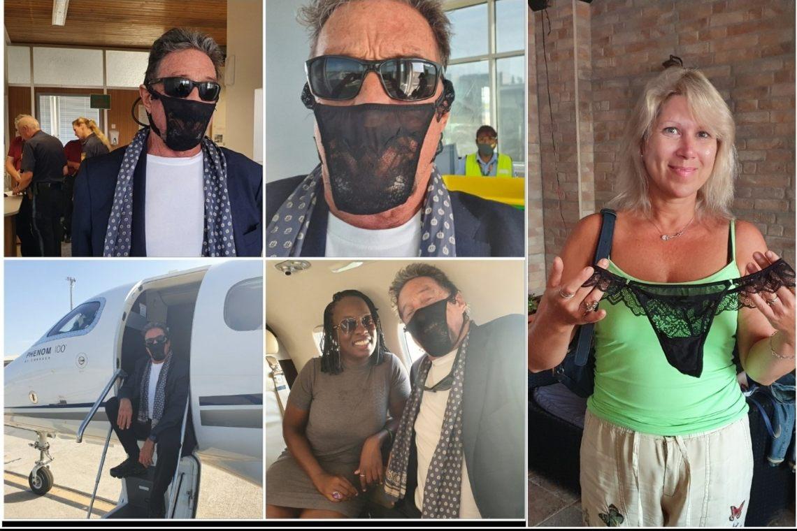 Mutandina come mascherina: John McAfee respinto in Norvegia