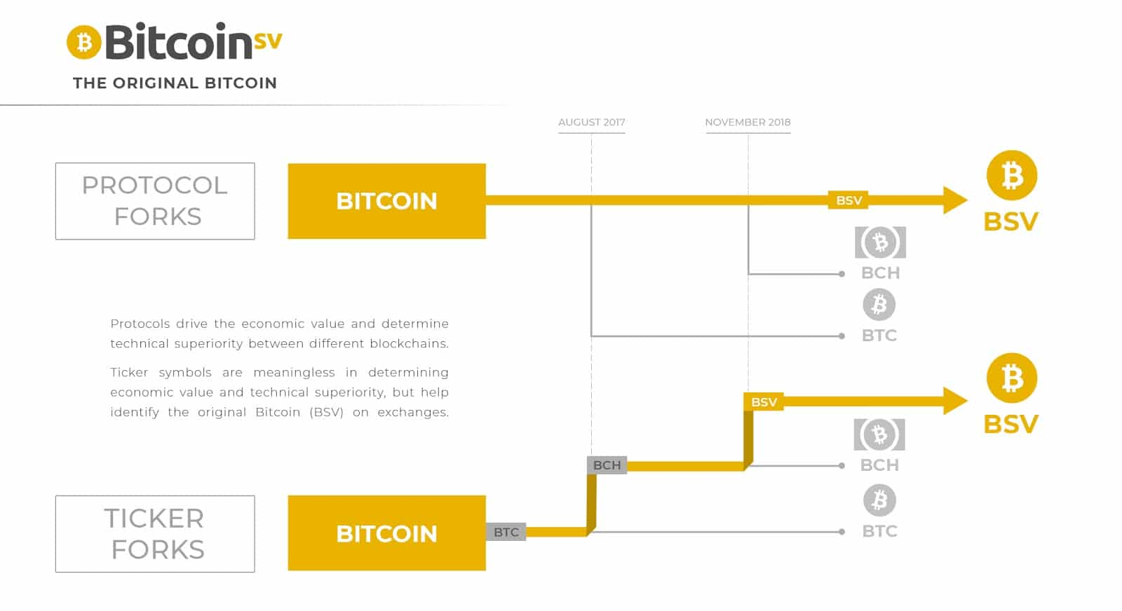 bitcoin forks protocol