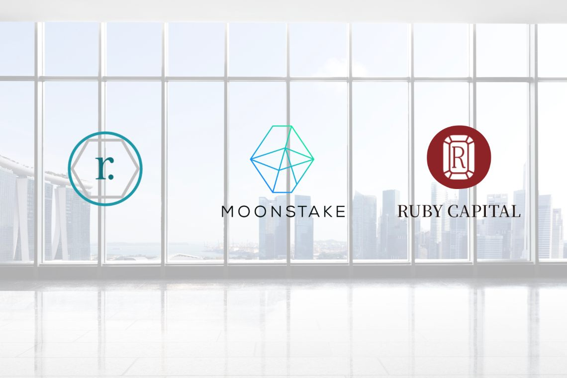 Moonstake: una partnership con Ruby Capital e Ramp DeFi